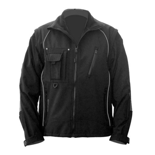 Softshell jas Maxx-on 6101  - Zwart