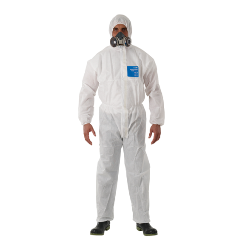 Overall Microgard 1500 plus ( asbest & Anti-statisch)  wit