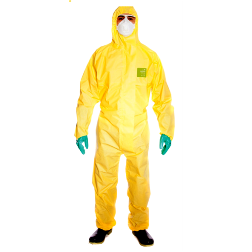 Overall Microgard 2300 Plus model 132  (YY23-T-00-132) (Chemicalien) geel