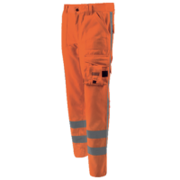 Werkbroek Workman High Visibility worker EN471 1-2 fluor oranje