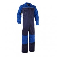 Overall Dassy Cannes Bi-colour navy met korenblauw