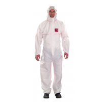 Overall Microgard 1500 Plus FR, (WR17-S-00-111) Vlamvertr. AST. wit