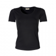 T-shirt TeeJays women stretch T 195 gr  zwart