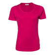 T-shirt TeeJays women stretch T 195 gr hot pink ( rose)