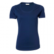 T-shirt TeeJays women stretch T 195 gr  navy blauw