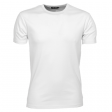 T-shirt Tee Jays men interlock bodyfit TJ520 wit