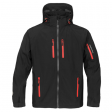 Softshell jas Stormtech expedition XB-2M H2XTREME zwart met rood