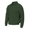 Polosweater Rom88 PSB280 met boord groen