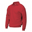 Polosweater Rom88 PSB280 met boord rood