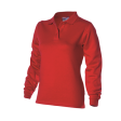 Polosweater Rom88 PST280 Dames rood