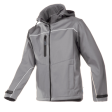 Softshell jas Sioen 9934 Homes 3-laags grijs