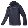 Softshell jas Sioen 9934 Homes 3-laags navy blauw